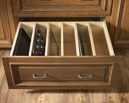 kitchen cabinet tray dividers smart diy kitchen cabinet upgrades shelterness hafele wood tray