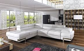 leather corner sofa emporio 4 seater white faux leather corner sofa bed with armrest