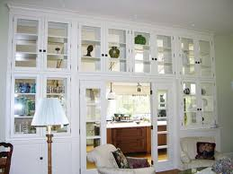 White Living Room Cabinets With Glass Doors Home Interiors