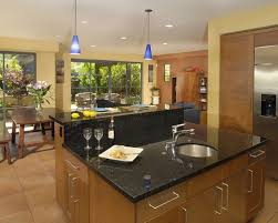 kitchen with island and breakfast bar kitchen island breakfast bar houzz