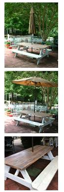 Inexpensive Patio Tables Needed A Patio Table On A Budget I Thought The Picnic Table