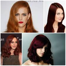 spring color trends 2017 2017 stunning red hair color ideas hairstyles 2018 new haircuts