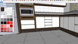 modelagem cozinha 01 no sketchup 2014 parte 2 youtube