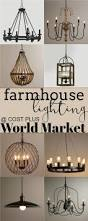 Foyer Lighting Ideas by Best 20 Farmhouse Lighting Ideas On Pinterest Farmhouse