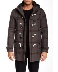 dark brown duffle coats for men men u0027s fashion