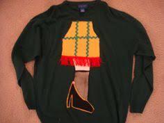 a christmas story leg l man s ugly tacky christmas story sweater party sweater red leg l