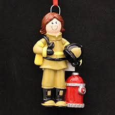 firefighter ornament home kitchen