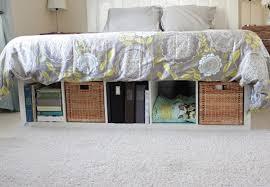 Diy Bed Platform Inspiring Diy Bed Platform With Best 20 Diy Platform Bed Ideas On