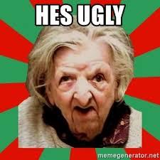 Crazy Lady Meme - ugly old lady meme old best of the funny meme