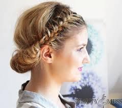 Hochsteckfrisurenen Mit Zopf by 27 Trendige Hochsteckfrisuren Für Mittellanges Haar