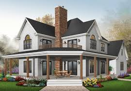 farmhouse plans laurel hill country farmhouse plan 032d 0702 house plans and more