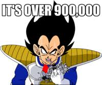 Over 9000 Meme - it s over 9000 know your meme