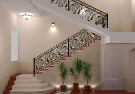 metal staircase railing design for elegance home decorations insight