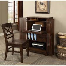 espresso computer armoire desk armoires you ll love wayfair