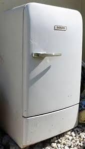 k hlschrank 50er design bosch kühlschrank 50er jahre zum restaurieren fuktioniert