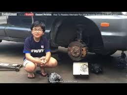 2001 hyundai santa fe alternator replacement how to remove replace and install alternator on 2006 hyundai