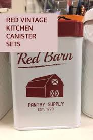 italian tuscan red canister sets beautiful hand painted tuscany