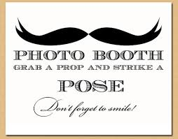 photo booth sign printable photo booth sign mustache sign mustache bash