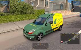 renault kangoo 2016 renault kangoo ai american truck simulator mods ats mods