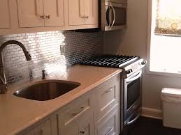 home design stainless steel backsplashes brooks custom regarding