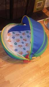 Georgia travel bed for baby images Fisher price screened activity dome travel bassinet bounce play jpg