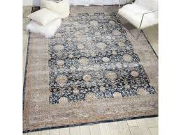Navy Area Rugs Floor Coverings Kathy Ireland Malta Navy Area Rug By Nourison