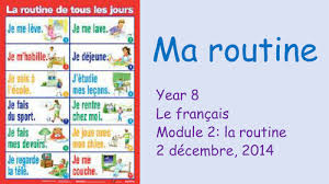 year 8 daily routine activities reflexive verbs by loveparis77