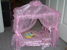 making doll canopy bed all image of princess idolza