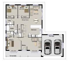 3 bedroom house plan three bedroom house blueprints homes floor plans