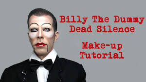 billy the dummy dead silence make up tutorial hd youtube