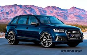 audi rs wagon future suv renderings 2016 audi rs q7 8