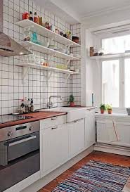 organize a small kitchen with open shelves easy ways to organize