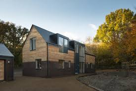 Home Exterior Design Uk Uk Countryside Brick House Design In The Midle Of Woodlands