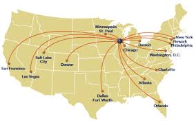 map salt lake city to denver where we fly