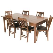 Modern Dining Room Sets For Small Spaces Dining Room Stakmore Company Inc Mission Style Expanding Dining