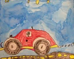 primary colors georgetown elementary art blog