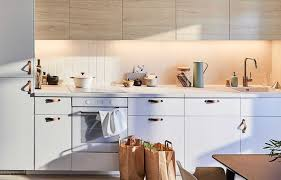 ikea adel medium brown kitchen cabinets open storage for your ikea wall cabinets