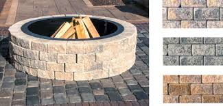Brick Fire Pit Kit by If You Build A Fire Pit They Will Come Unilock Fire Pit Kits At