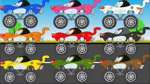 monster truck kid videos learn colors with oggy monster trucks for kids video learning