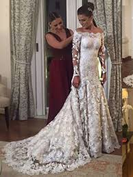 Wedding Dress Lace Sleeves Cheap Wedding Dresses Fashion Discount Wedding Dresses