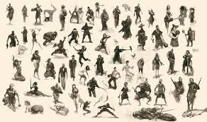figurative figurative sketch compilation 002 by mrdream on deviantart