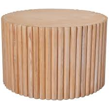 drum table for sale post modern wooden drum form side table for sale at 1stdibs
