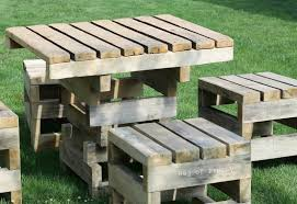 Patio Made Out Of Pallets by Marvellous End Table Made From Pallets Then End Table Made From