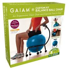 Yoga Ball Desk Chair by Fitseats Get Fit While You Sit