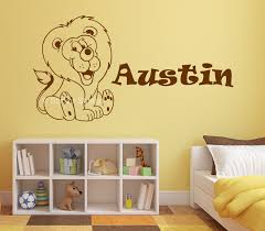 wall art stickers shenra com name in stars personalised wall art sticker sticker station
