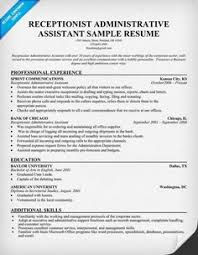 spa receptionist resume objective examples we are here to save