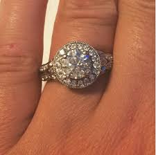 ring engaged jenelle engaged to nathan griffith engagement ring