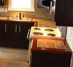 comptoir de c amique cuisine céramique avec bordure schluter recherche trim profiles