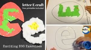 letter e crafts letter e crafts exciting egg exercises kidz activities