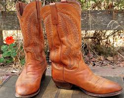 womens size 9 in mens boots lucchese cowboy boot etsy